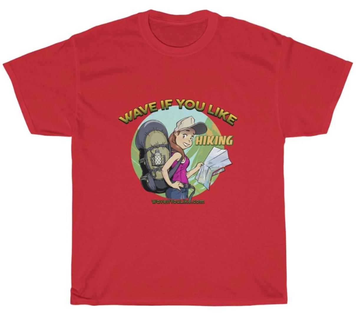 Hikign t-shirt